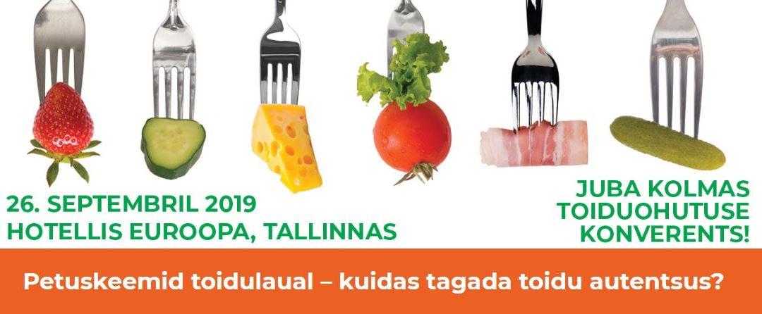 Juba kolmas toiduohutuse konverents!
